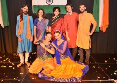 Krishna Leela Team with Swiss indian Ambassador - 2015