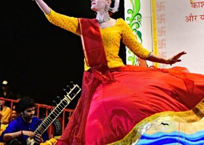 Ghat Sandhya - Varanasi - Kathak solo - 2018